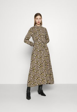 YASNULA LONG DRESS - Skjortekjole - black/nula