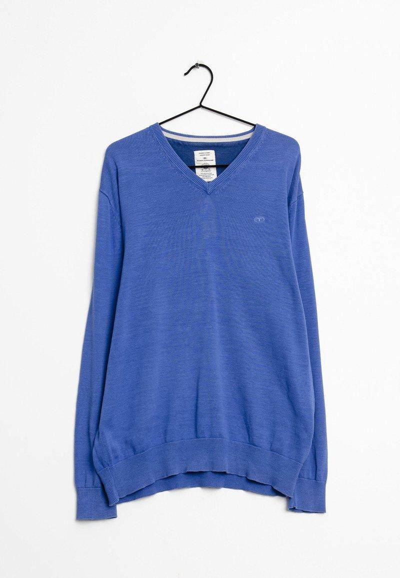 TOM TAILOR - Pullover - blue
