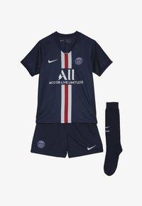 Nike Performance - PARIS ST GERMAIN HOME KIT - Club wear - midnight navy/white - 5