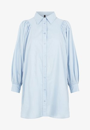 YASGEETA - Button-down blouse - cashmere blue