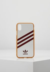 adidas Originals - MOULDED CASE FOR IPHONE X/XS - Etui na telefon - collegiate burgundy - 0