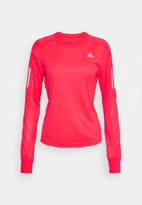 adidas Performance - SPORTS RUNNING LONG SLEEVE - Sports shirt - signal pink - 4