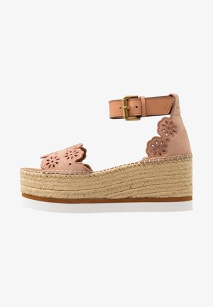 Platform sandals - cipria/sierra