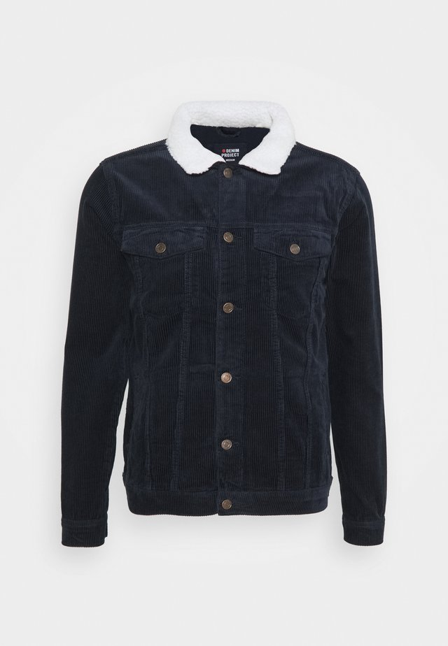 TEDDY JACKET - Korte jassen - navy