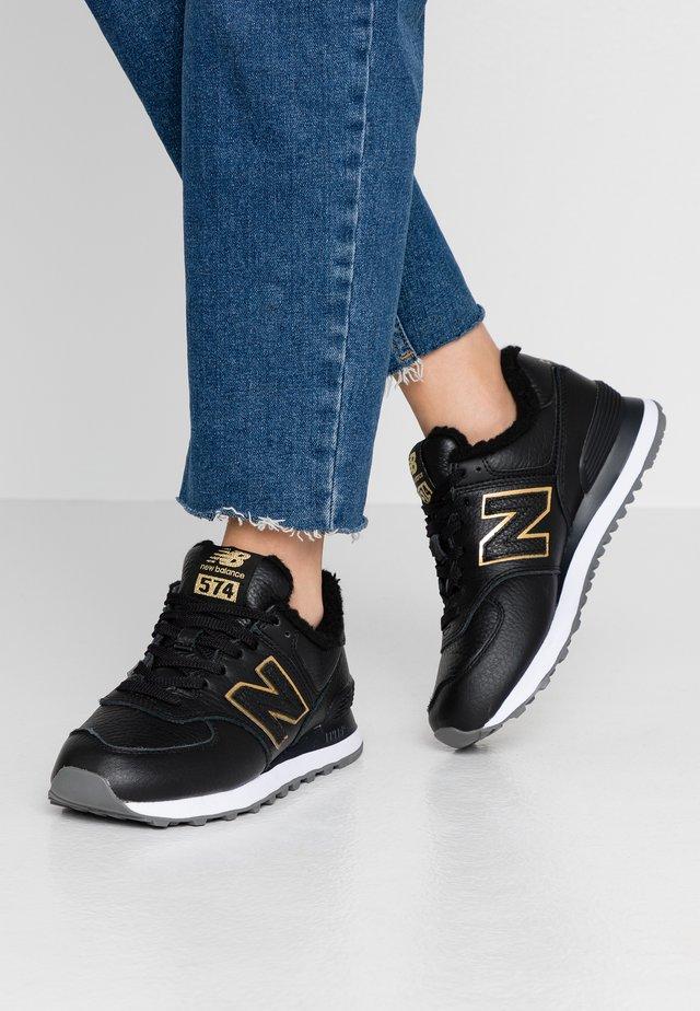 WL574 - Sneakersy niskie - black/gold