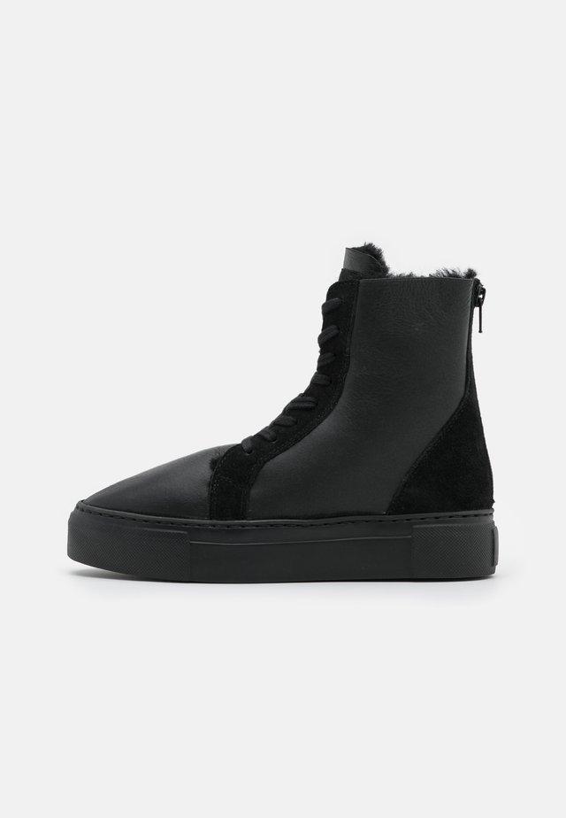 BERN - Schnürstiefelette - black