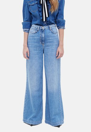 PALAZZO - Flared Jeans - blu