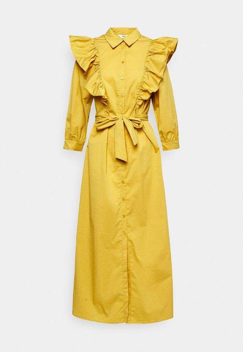 Object Tall - OBJKAMALI DRESS - Maxi dress - bamboo
