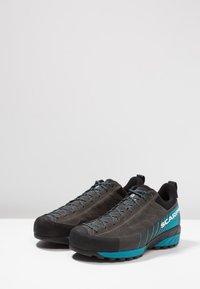Scarpa - MESCALITO GTX - Hiking shoes - shark/lakeblue - 2