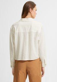 comma casual identity - Button-down blouse - white - 2