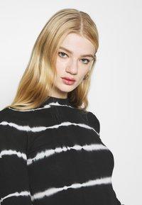 Weekday - VERA MOCKNECK - Long sleeved top - black - 3