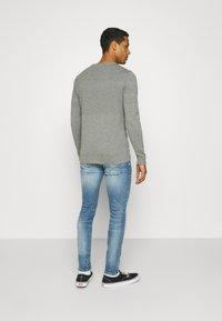 Nudie Jeans - TIGHT TERRY - Jeans Skinny Fit - mended ink - 2