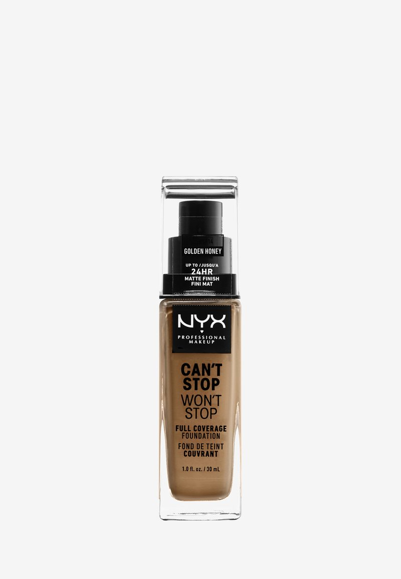 Nyx Professional Makeup - CAN'T STOP WON'T STOP FOUNDATION - Foundation - 14 golden honey