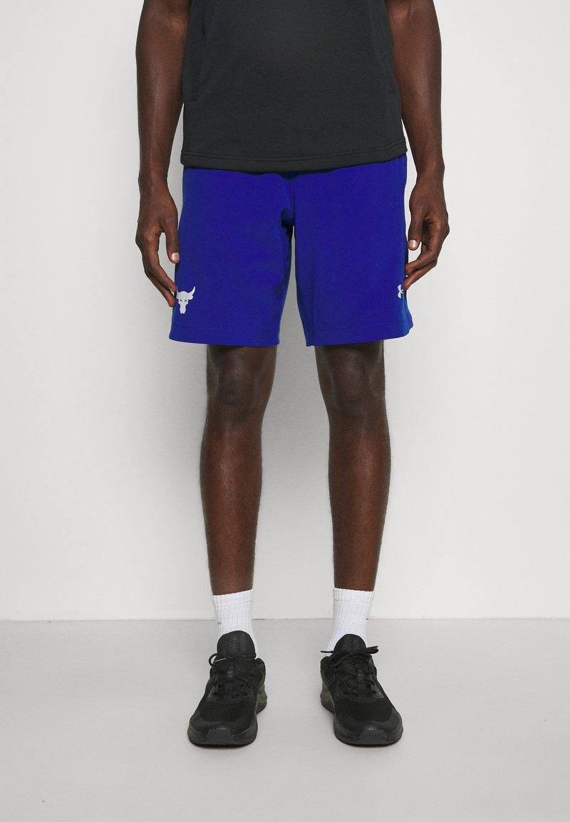 Under Armour - PROJECT ROCK SNAP SHORTS - Pantaloncini sportivi - blue