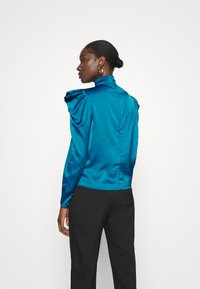 Who What Wear - HIGH NECK - Blouse - dark teal - 2