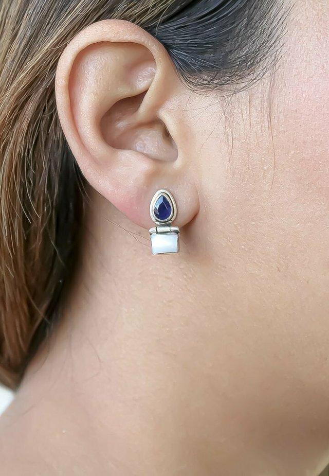 REINA  - Örhänge - dark blue
