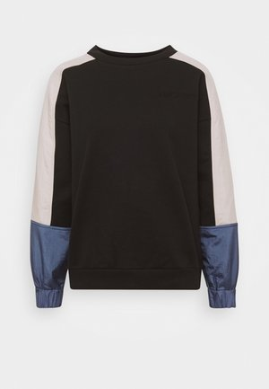 LEO CREW - Sweater - crew tofu/colony blue/caviar