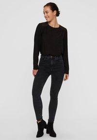 Vero Moda - VMSOPHIA  - Jeans Skinny - dark grey denim - 1