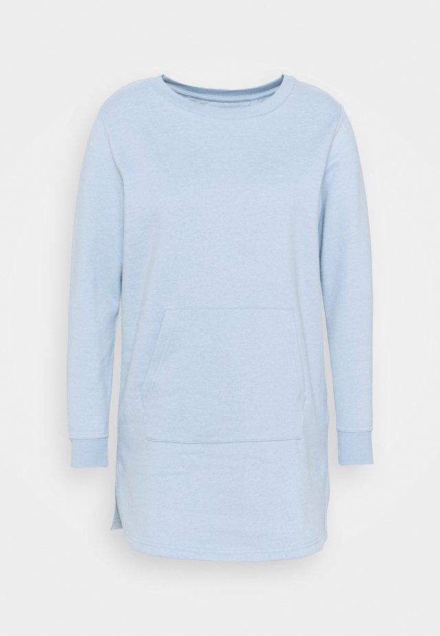 TUNIC - Sweatshirt - dusted blue