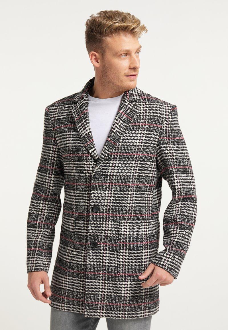 Mo - Krátký kabát - schwarz weiss