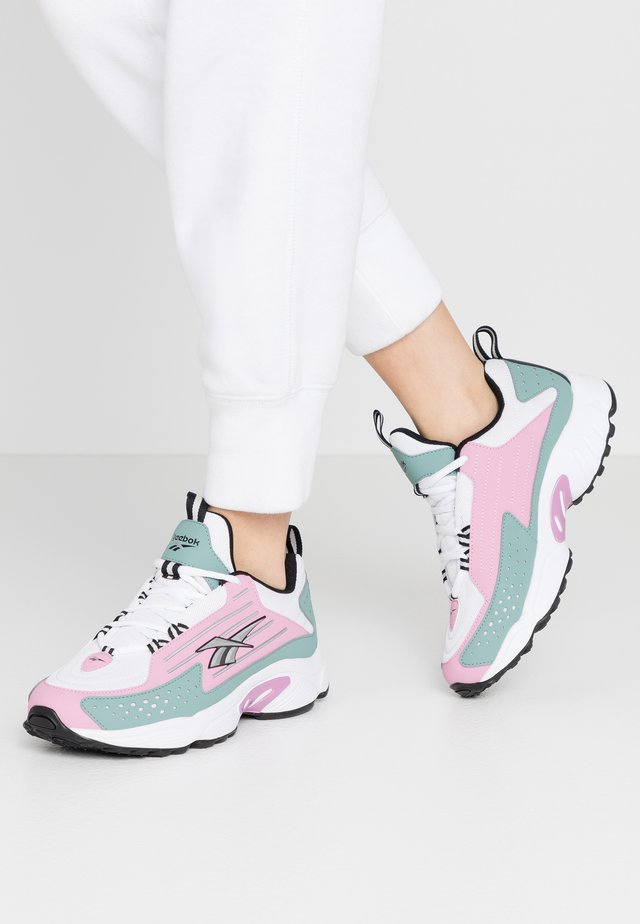 DMX SERIES 2200 - Trainers - jasmine pink/green slate/white