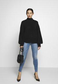 Frame Denim - LE HIGH SKINNY - Jeans Skinny Fit - blue denim - 1