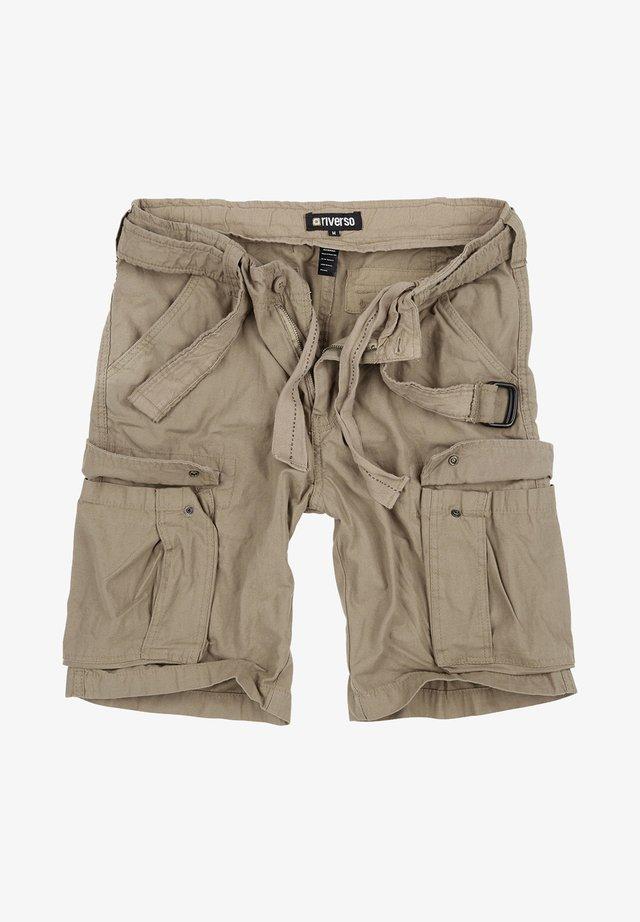 RIVFYNN - Shorts - beige