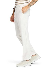 Timberland - Tracksuit bottoms - white sand - 3