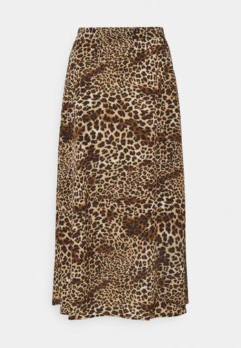 BXJANI SKIRT - A-line skirt - brown
