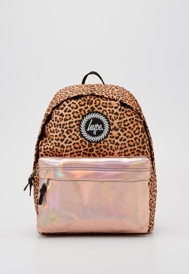 BACKPACK LEOPARD POCKET - Ryggsekk - multi