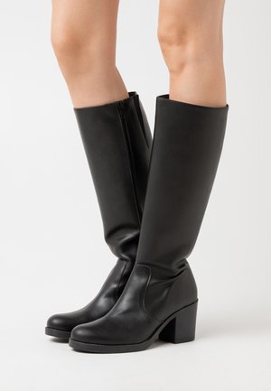 ANDREA  - Vysoká obuv - black