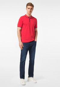 Pierre Cardin - Straight leg jeans - dark blue used - 1