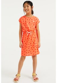 WE Fashion - MET KRABDESSIN - Day dress - bright orange - 0