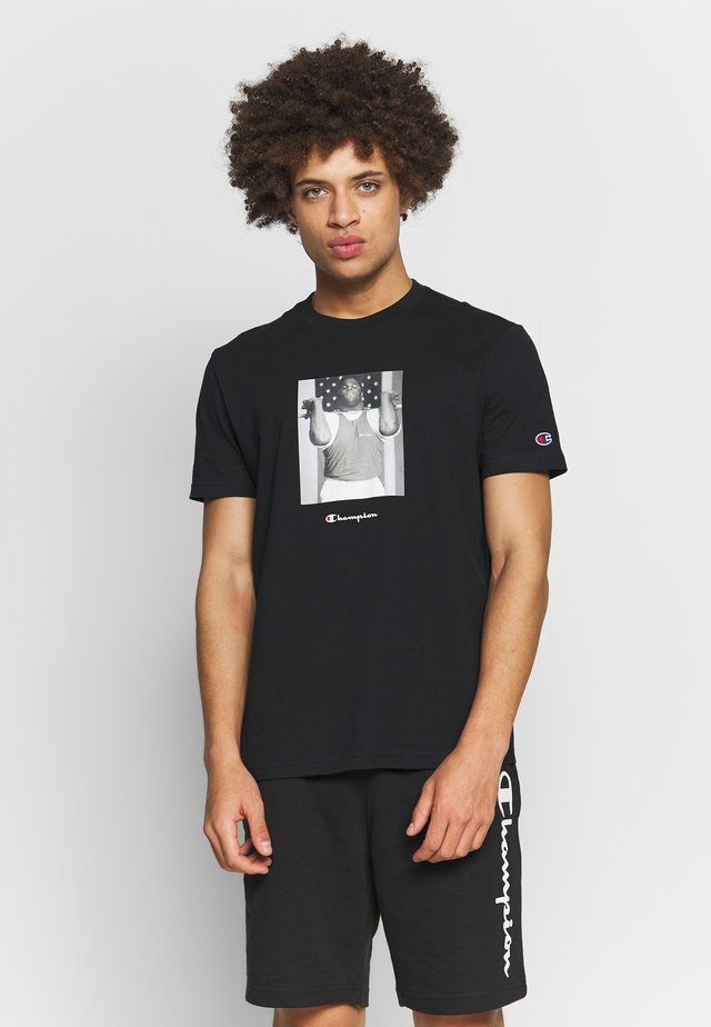 ROCHESTER THEME CREWNECK  - T-shirt print - black