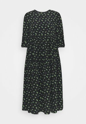 DRESS ROSEBUD FLORAL  - Day dress - black
