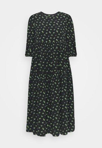 DRESS ROSEBUD FLORAL  - Day dress - black