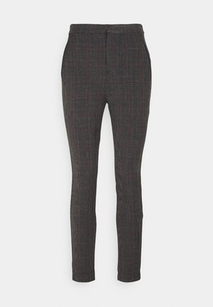 CUADROS - Trousers - dark grey