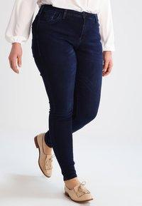 Zizzi - AMY - Jeans Skinny Fit - dark blue - 0