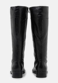 Caprice - BOOTS - Vysoká obuv - black - 3