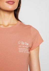 G-Star - SMALL LOGO SLIM  - T-shirts basic - mauve 4398 - 4