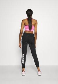 adidas Performance - Pantaloni sportivi - black/white - 2