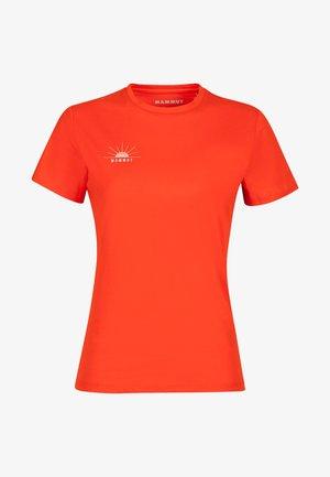SEILE - Print T-shirt - red