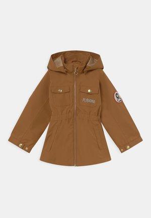 UNISEX - Waterproof jacket - brown