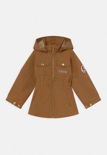 UNISEX - Vodotěsná bunda - brown