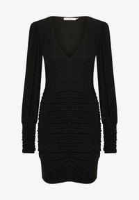 Gestuz - Shift dress - black - 2