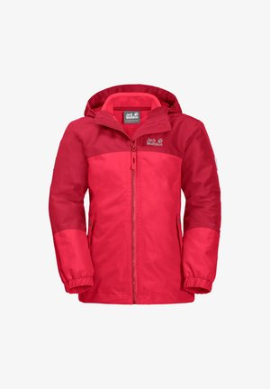 ICELAND 3-IN-1 - Winter jacket - tulip red