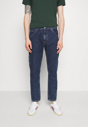 TAPERED CARPENTER - Jeans Tapered Fit - save fa dark blue rigid