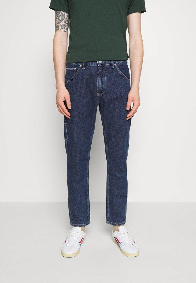 TAPERED CARPENTER - Jeans Tapered Fit - save fa dark blue rigid