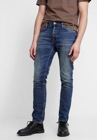 Nudie Jeans - LEAN DEAN - Slim fit -farkut - indigo shades - 0