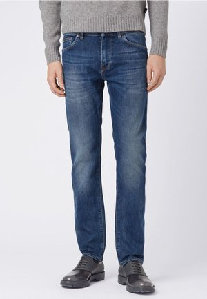 MAINE Slim Fit - Slim fit jeans - dark blue